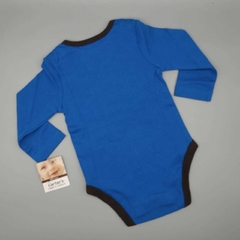 Body NUEVO Carters Talle 9 meses azul awesome en internet