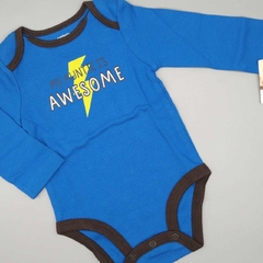 Body NUEVO Carters Talle 9 meses azul awesome - comprar online