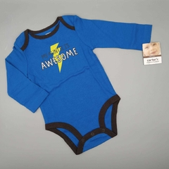 Body NUEVO Carters Talle 9 meses azul awesome