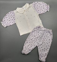 Conjunto Baby Time Talle 3 meses