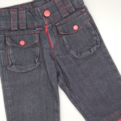 Jeans Owoko Talle S (3-6 meses) con rojo - comprar online