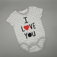Body NUEVO HyM Talle 4-6 meses I love you