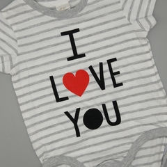Body NUEVO HyM Talle 4-6 meses I love you - comprar online