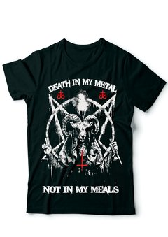Camiseta - Death in my Metal