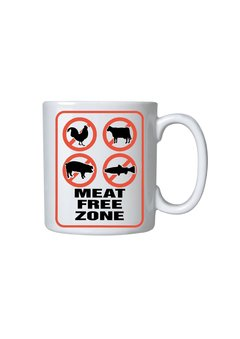 Caneca - Meat Free Zone