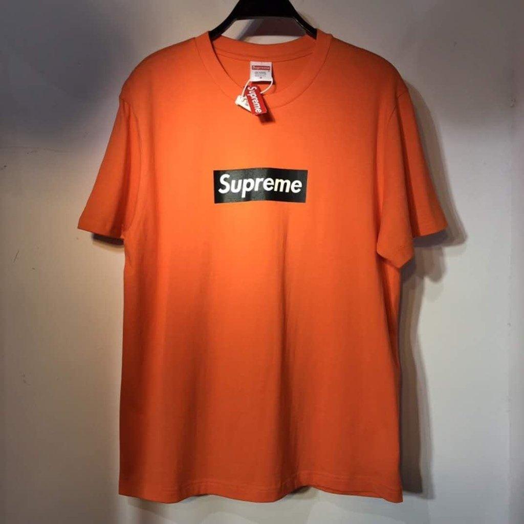 descuento especial de nuevas imágenes de el precio más baratas Camiseta Supreme Box Logo