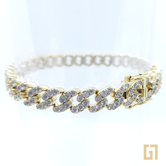 Pulsera Mini Ice Cuban 8mm - comprar online