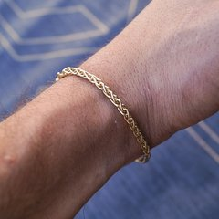 Pulsera Espiga - Golden Luxury