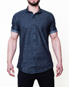 Camisa Slim Fit Blue Dark V18003149 - comprar online
