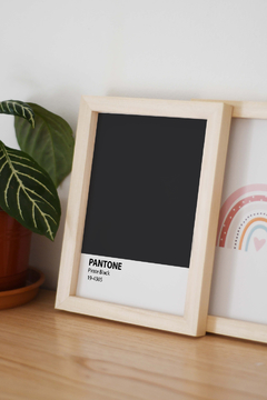 Pantone Pirate Black - Cuadro Box