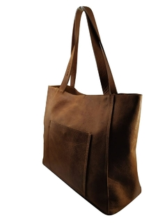 Shopping Bag Max Tierra Marron - comprar online