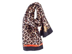 Pañuelo Animal Print Camel