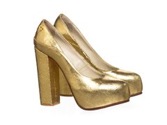 Stiletto Queen Metalizado Oro - comprar online