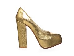Stiletto Queen Metalizado Oro