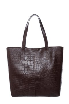 Shopper CD Croco Suela - Carla Danelli