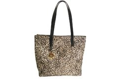 Cartera Mary con pelo natural en animal print