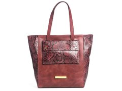 Shopping Bag Reptilia Velvet