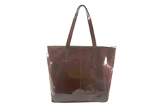 Shopping Bag Charol Bordo - comprar online