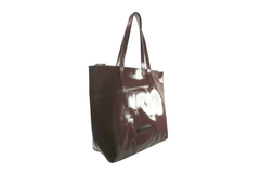 Shopping Bag Charol Bordo en internet