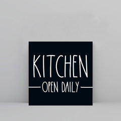 Kitchen Open Daily