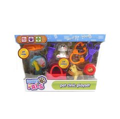 PLAYSET VETERINARIA CHICO CON FIGURAS