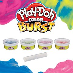 MASA COLOR BURST X 4 PLAY DOH - comprar online