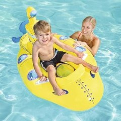 PILETA INFLABLE SUBMARINO AMARILLO en internet