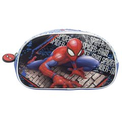 CARTUCHERA SPIDERMAN 3D OVAL 1 CIERRE
