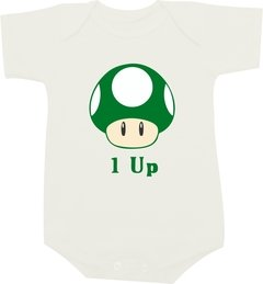 Body bebê 1 Up Mario Bros
