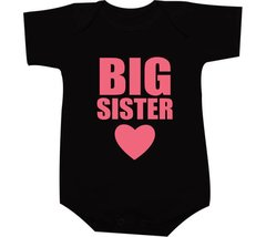 Camiseta Big sister na internet