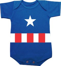 body bebe capitao america