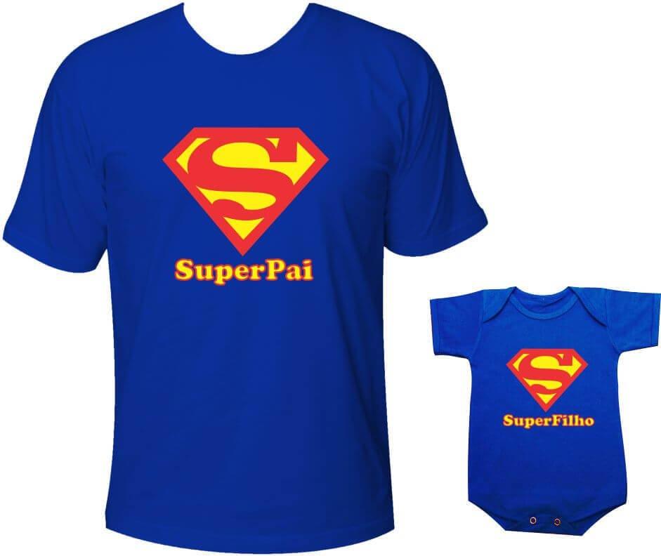 27adea667826cf Camisetas Tal pai tal filho Super Pai e Super Filho