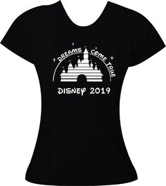 Camiseta Disney Dreams Come True Adulto