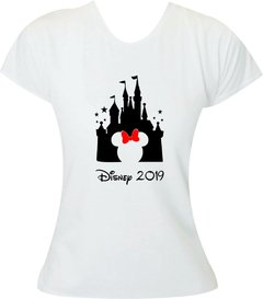 Camiseta Castelo Disney Minnie Adulto