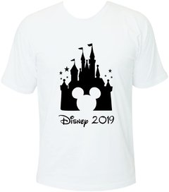 Camiseta Castelo Disney Mickey Adulto