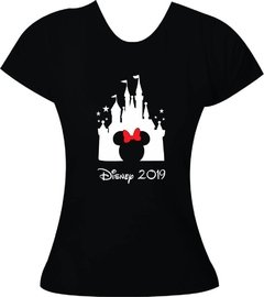 Camiseta Castelo Disney 2019 - Minnie