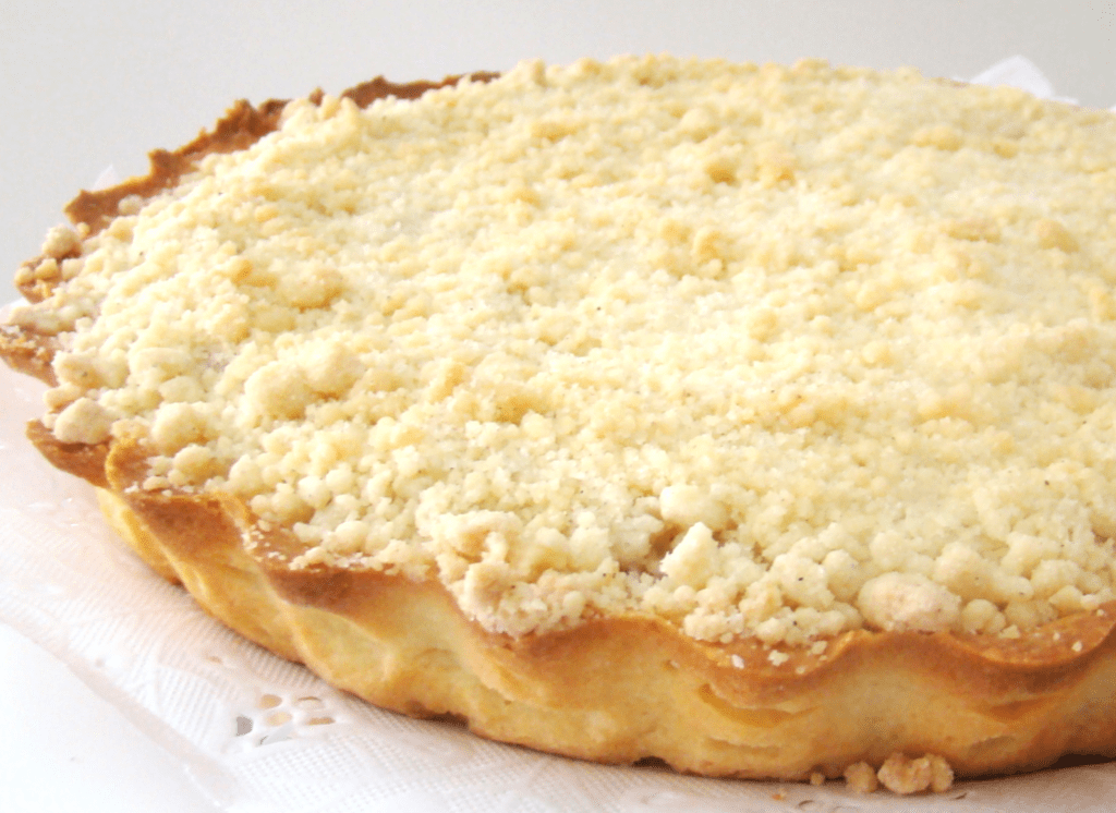 Torta Apple crumble