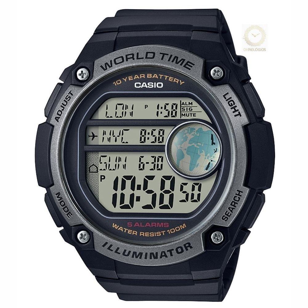 35475f753 Relógio Casio Masculino AE-3000W-1AVDF