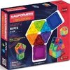 Magformers Solids Clear Rainbow 30pc Set