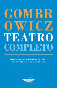 Teatro completo, Witold Gombrowicz