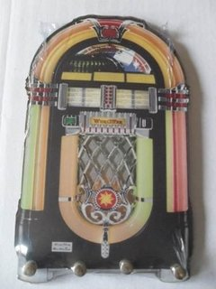 Porta Chaves Jukebox Retro Vintage - comprar online