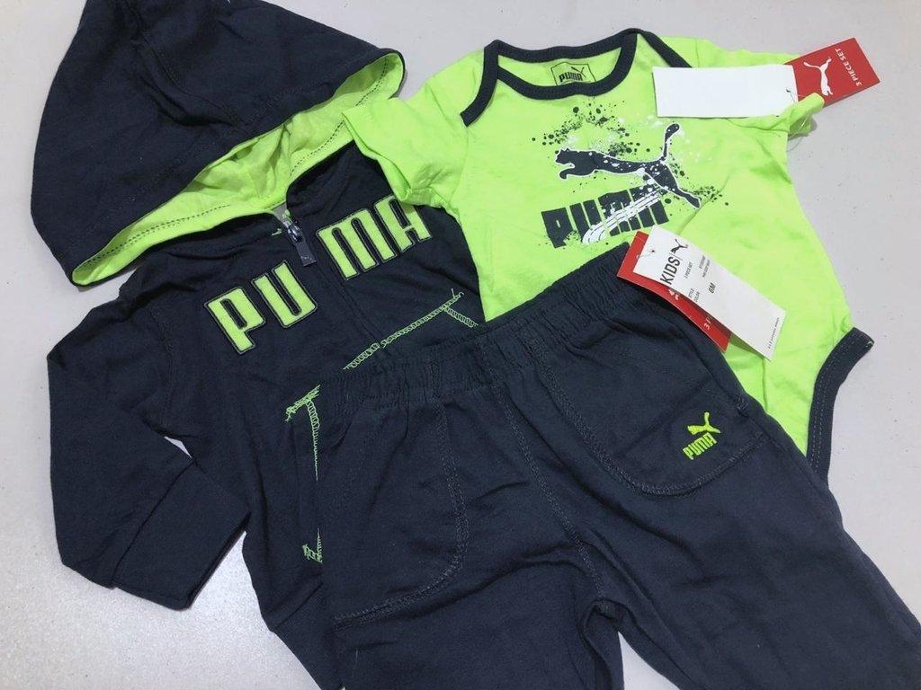 0d4125b9cb1 Conjunto Puma 3 peças - Amanda´s Shop importados