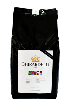 Kit Ghirardelli 4 KG  - (Gold, Black, Red, Green) - Ghirardelli Cafe