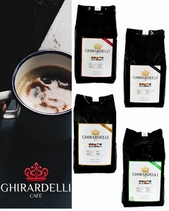 Kit Ghirardelli 4 KG  - (Gold, Black, Red, Green)