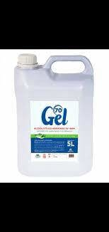 ALCOOL GEL 70º GL 5 LITROS MARY HILL