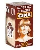 PALITOS GINA CX C/ 200