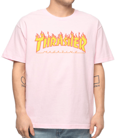 Camiseta Thrasher Flame Logo - No Hype