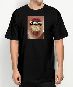 Camiseta Supreme Gold Mouth