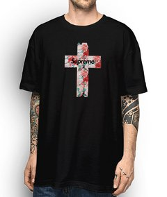 Camiseta Supreme The Cross