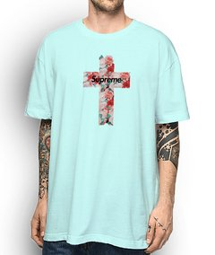 Camiseta Supreme The Cross - No Hype